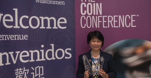 Lydia Yip of Hong Kong Monetary Authority: Winner of Best Coin Innovation