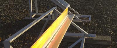 Monitoring SoHo3X 20Wp device vs. conventional solar solar module 20Wp