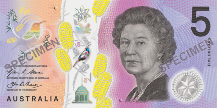 Australia S New 5 Note Featuring