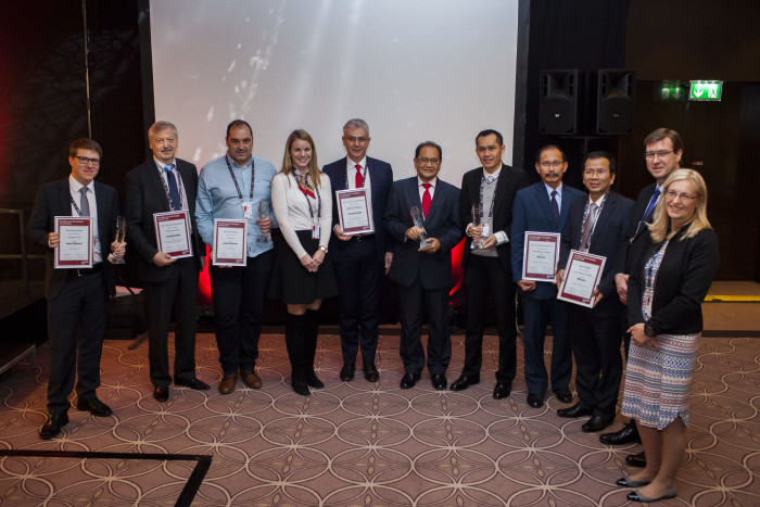 Winners of the Excellence in Tax Stamp Awards 2017 in Berlin