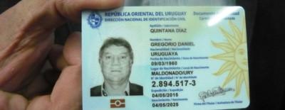 Uruguay's new eID card.
