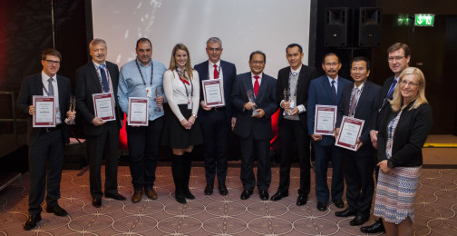 Winners of the Tax Stamps Awards 2017 in Berlin