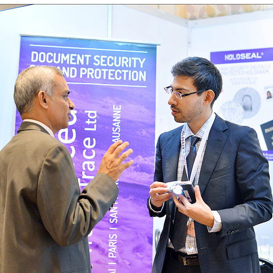 Exhibition at High Security Printing Asia